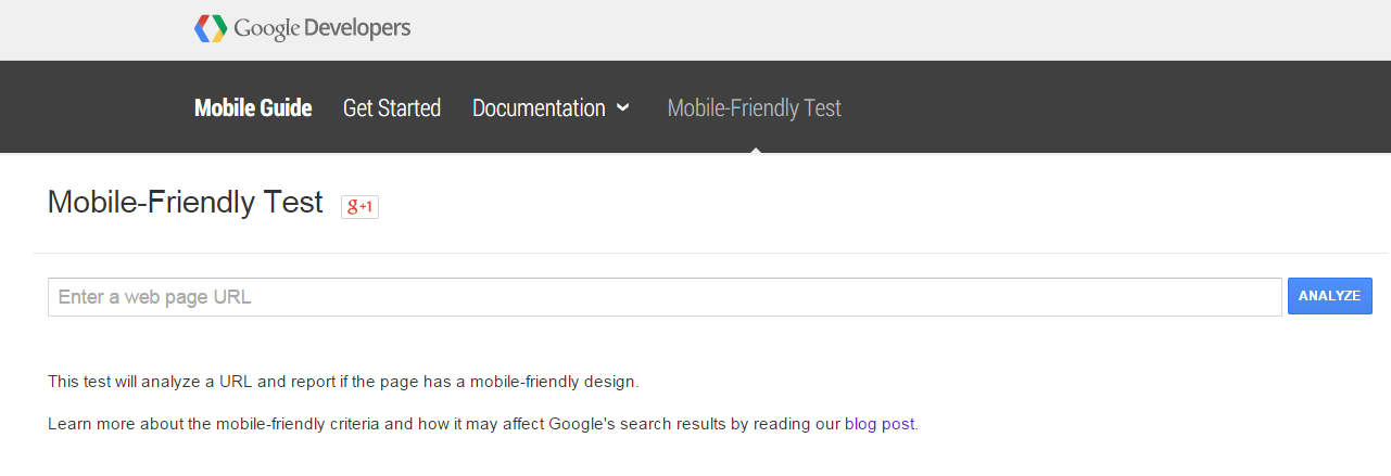 Use Google's Mobile-Friendly Test to see if your site is mobile-friendly.