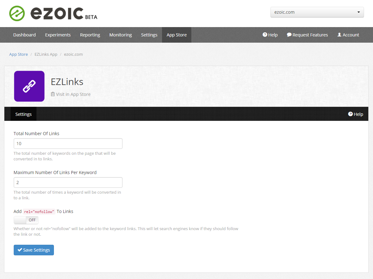 Use EZLinks to get more pageviews per visit